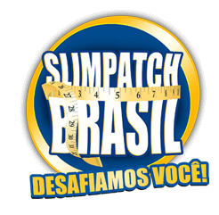 Logo site oficial Slim Patch Brasil